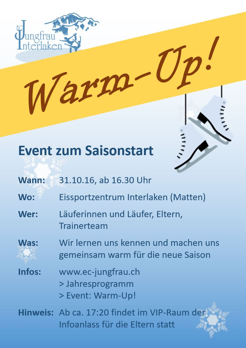 Flyer Warm Up 1